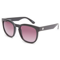 Spy Quinn Sunglasses Black/Merlot Fade One Size For Women 23315810001