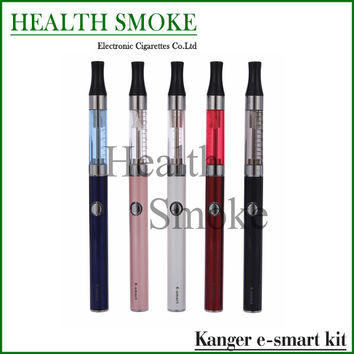 5pcs Original Kanger E-smart double gift kits Most Popular 1.3ml kanger e smart Starter Kit with Ego 510 Thread mini ecigs