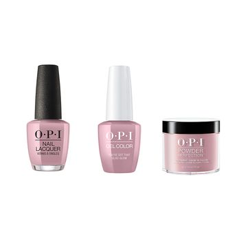 OPI - Gel, Lacquer & Dip Combo - You've Got That Glas-glow