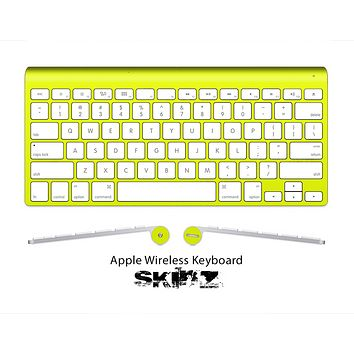 The Solid State Yellow Skin For The Apple Wireless Keyboard