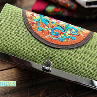 COTTON LONG WALLET