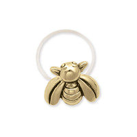 Gold Bee Toe Ring