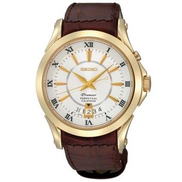 Men's Seiko Premier Perpetual Calendar Watch