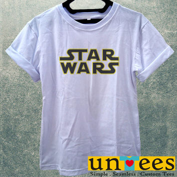 Low Price Women's Adult T-Shirt - Star Wars Logo design