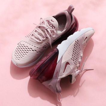 "NIKE Air Max 270 ""Pink"" Running Shoes Sneaker AH6789-601"