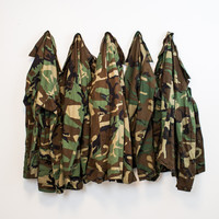Mystery Vintage Oversized Military Camo Jackets
