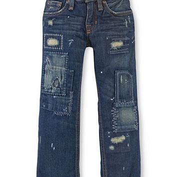 Ralph Lauren Childrenswear Boys 2-7 Boys' Rip and Repair Jeans