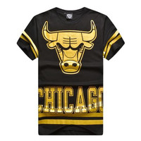 GOLD CHICAGO TEE
