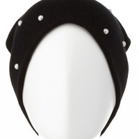 Pearl-Embellished Beanie by Charlotte Russe