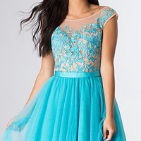 Sherri Hill Short Sleeveless Party Dress