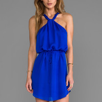 Rory Beca Dixon Drawstring Dress in Electric