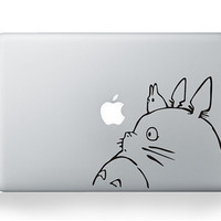 Totoro macbook decal macbook pro decal stickers macbook air decal apple macbook decal stickers for 11 13 15 17 inch
