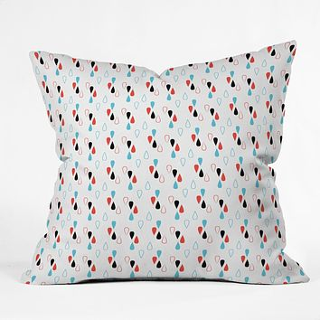 Marta Spendowska Dropplets 1 Throw Pillow