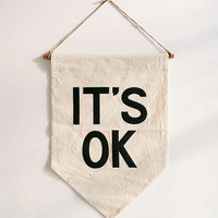 UO X Secret Holiday & Co. It's OK Banner | Urban Outfitters
