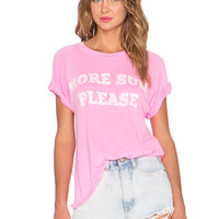 More Sun Please Tee in Party Girl
