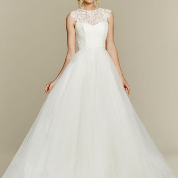 Blush by Hayley Paige Sunshine 1561 Lace Ball Gown Wedding Dress
