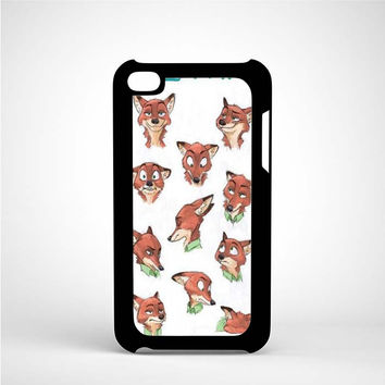 Zootopia Art iPod 4 Case