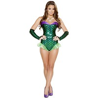 Queen Triton Beauty Mermaid Halloween Costume