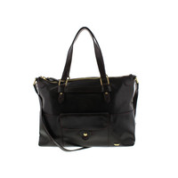IIIBECA by Joy Gryson Womens Leather Convertible Tote Handbag