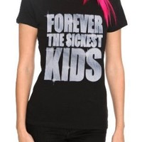 Forever The Sickest Kids Diamond Girls T-Shirt