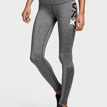 Victoria's Secret VSX Fashion Print Exercise Fitness Gym Yoga Running Leggings Sweatpants