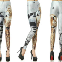 Star Wars Leggings, R2D2 and CP30
