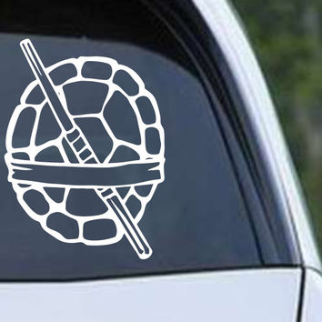 Teenage Mutant Ninja Turtles - Donatello Die Cut Vinyl Decal Sticker