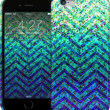Zig Zag Sparkley Texture G41 iPhone Cases & Skins by Medusa GraphicArt | Nuvango