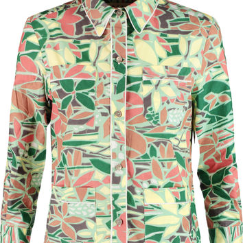 Marni Printed cotton shirt – 60% at THE OUTNET.COM