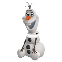 Olaf Sculpted Ceramic Cookie Jar