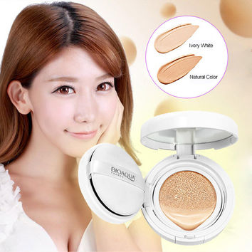Air Cushion BB Cream Concealer Moisturizing Foundation Makeup Bare Strong Whitening Face Beauty Make Up  HB88