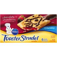 Walmart: Pillsbury Chocolate Strawberry Toaster Strudel Pastries, 6 count, 11.5 oz