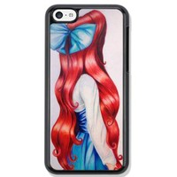 Red hair ariel Protective Hard Phone Case For iPhone 6 Plus (5.5 inch) case