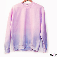 Dip-Dye Sweatshirt (more colors) from ShopWunderlust