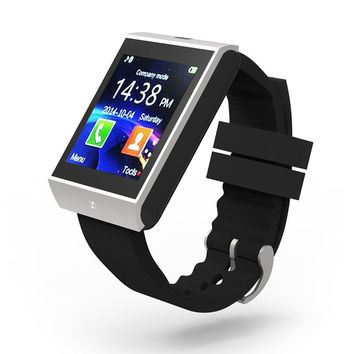 Bluetooth Smart Watch Wrist Clock Sync Notifier Watch