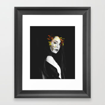 Septemeber Framed Art Print by J.Lauren