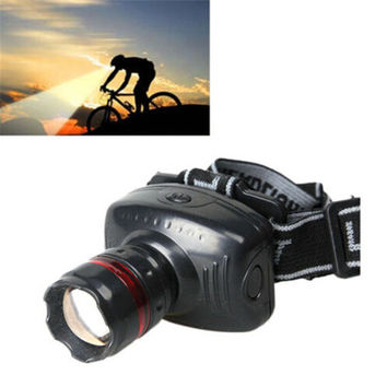 Best s Sports Outdoor Gear Hiking Camping 3W Mini Headlight 500 Lumens LED Headlamps Lamp Head Torch C40 DHL/EMS