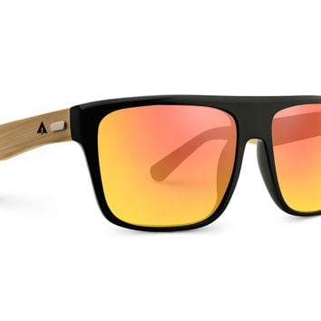 Wooden Sunglasses // Aviator 45