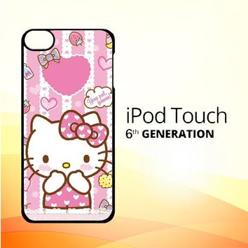 Hello Kitty Candy Pink L1944 iPod Touch 6 Case