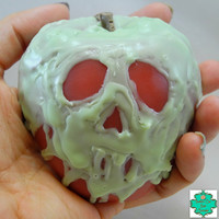 Poison Apple Soap Bar - Halloween Soap, Evil Queen, Snow White, Creepy Soap, Unique Soap, Once Upon a Time