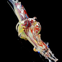 Color Changing Glass Dragon Pipe - AP201