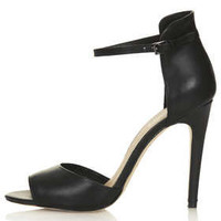 REBEL Clean 2 Part Sandals - Heeled Sandals - Heels  - Shoes