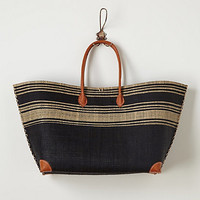 Seaside Striped Tote