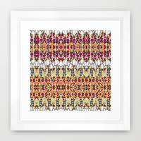 on a whim 2 Framed Art Print by Ingrid Padilla