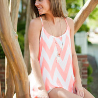 Always Better Tank, Neon Coral