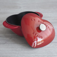 Staub Staub® Heart Cocotte from Sur La Table | BHG.com Shop