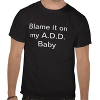 A.D.D lyrics shirt from AWOLNATION from Zazzle.com