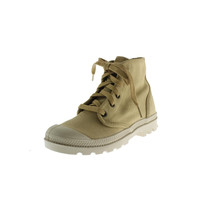 Palladium Womens Pampa Hi Canvas Toe-Cap Ankle Boots