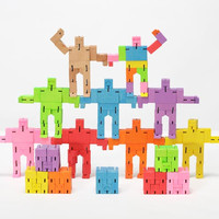 Micro Cubebot Set (40 in assorted colors)