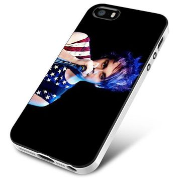 Michael Clifford Hair Color Artist iPhone 5 | 5S | 5SE Case Planetscase.com